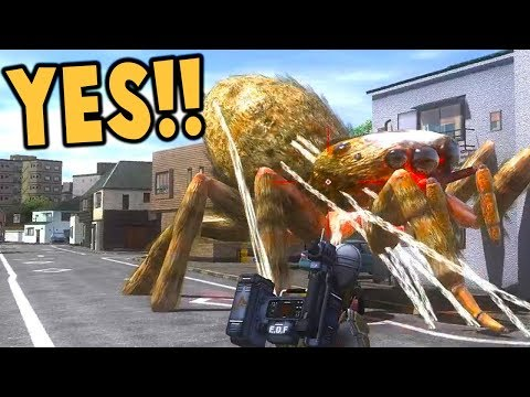 GIANT BUGS CREATURES Invade the City! INSANE Tunnel Systems! - Earth Defense Force