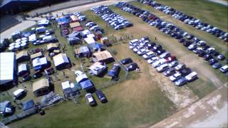 Arena on Sunday of the Caravan, Camping & Outdoor Adventure Show
