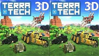 3D VR video TerraTech 3D SBS VR box google cardboard