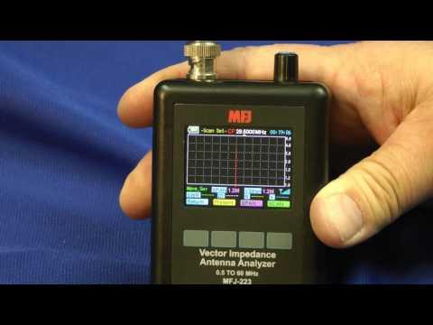 MFJ 223 Vector Impedance Analyzer