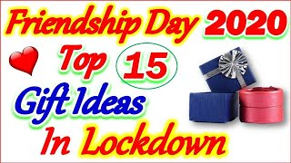 Friendship Day Date | Happy Friendship Day Gift Ideas in Lockdown | मित्रता दिवस