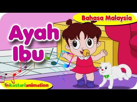AYAH IBU | Nyanyian Anak Islam bahasa Malaysia bersama Diva | Kastari Animation Official