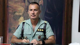 La Legión: Entrevista al coronel Francisco García-Almenta, jefe del 4º Tercio