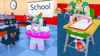 First Day At New School - Meep City Roblox Online Game Play Video - Cookie Swirl