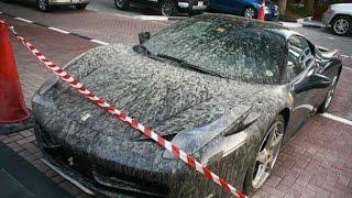 Dubai automobili abbandonate 2016 Bugatti, Lamborghini, Ferrari ..