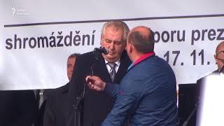 Президент Земан хочет на новый срок