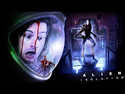 THE FIRST ENCOUNTER.. || Alien Isolation (Part 2)