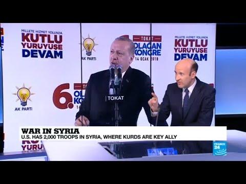 Erdogan threatens to 'strangle' new US-backed Syria force