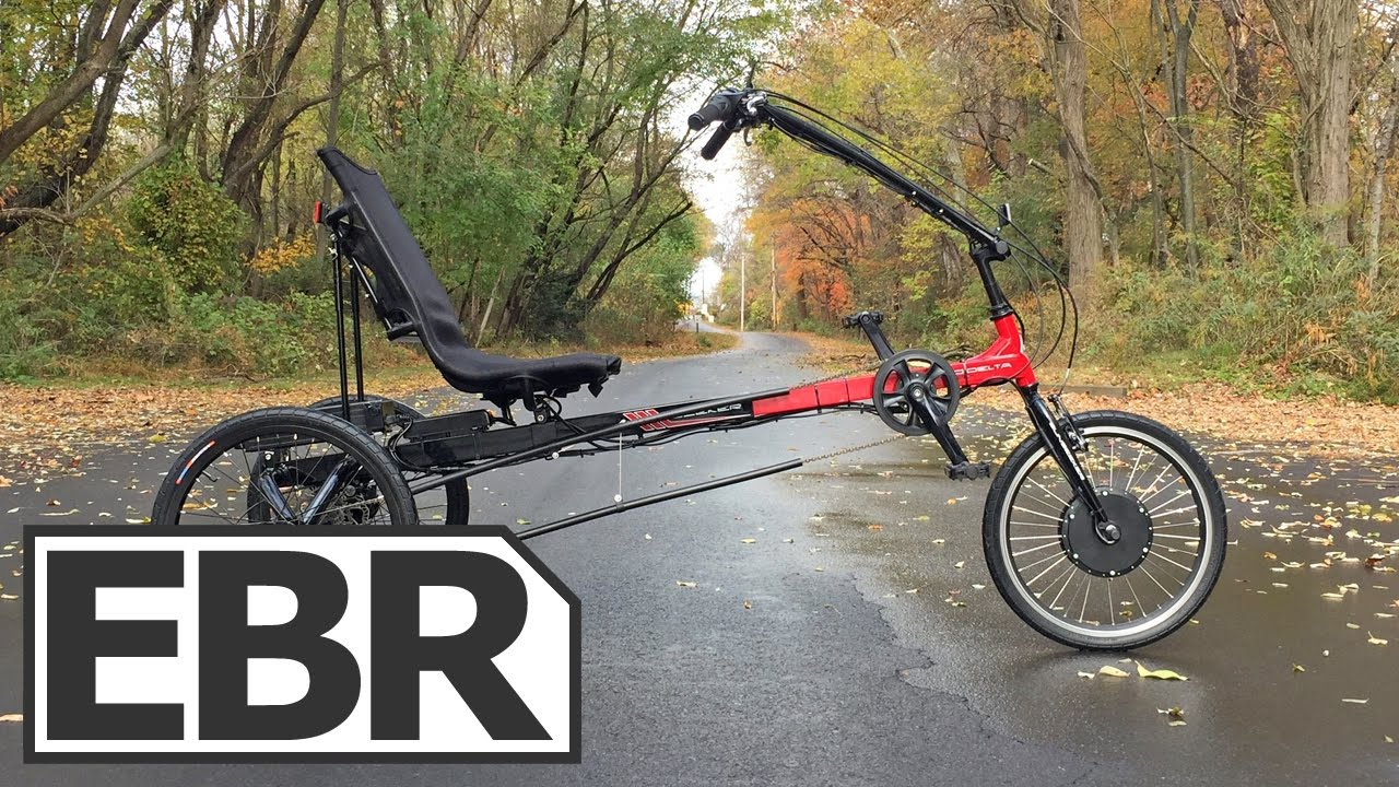 Sun Seeker Eco Delta Electric Trike Video Review Comfortable