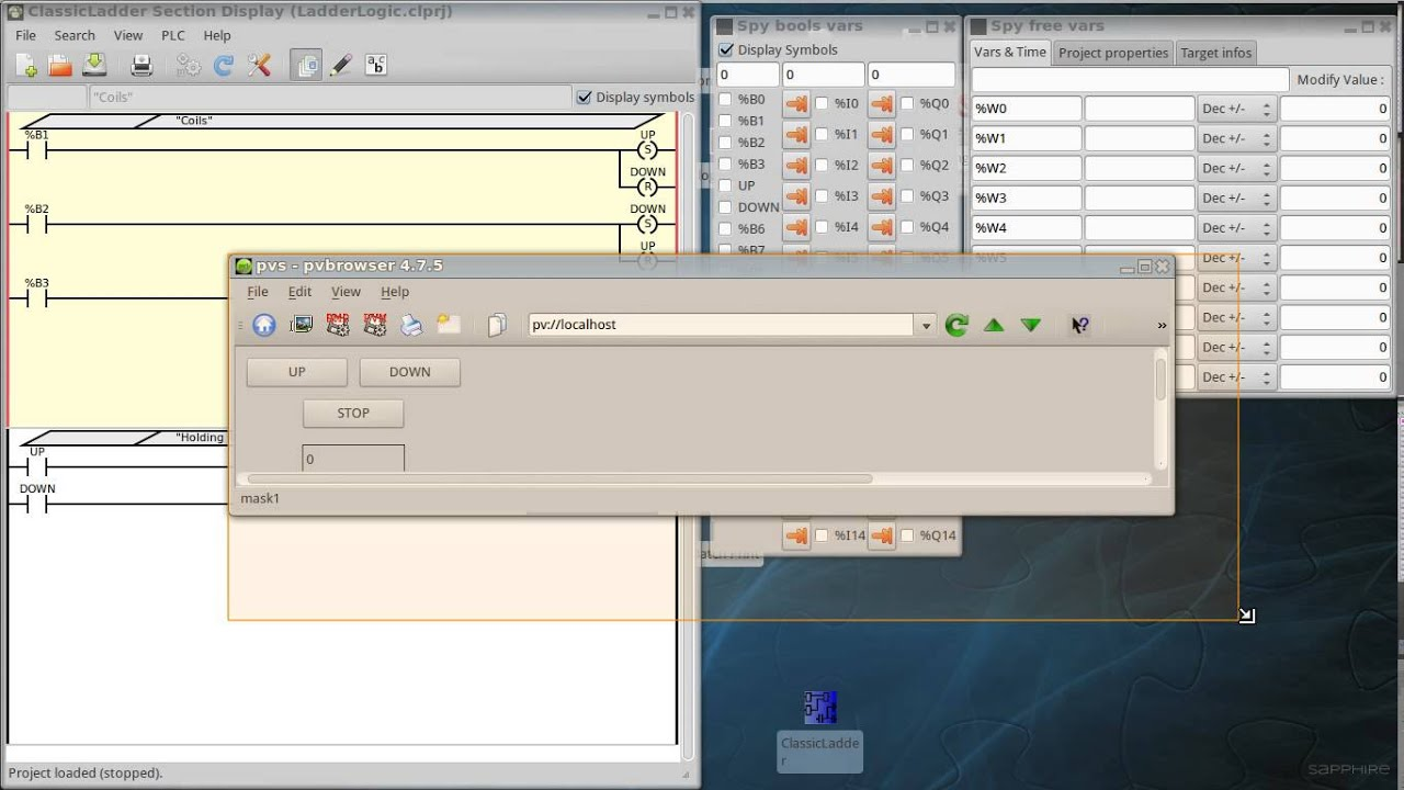 pvbrowser + ClassicLadder + Modbus TCP : Open source SCADA and soft ...