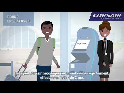 Parcours client automatisé - Corsair International