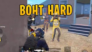 MOST BOHT HARD GAME!!! | SOLO SQUAD | PUBG MOBILE