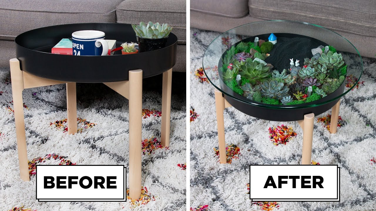 - DIY Succulent Coffee Table - YouTube