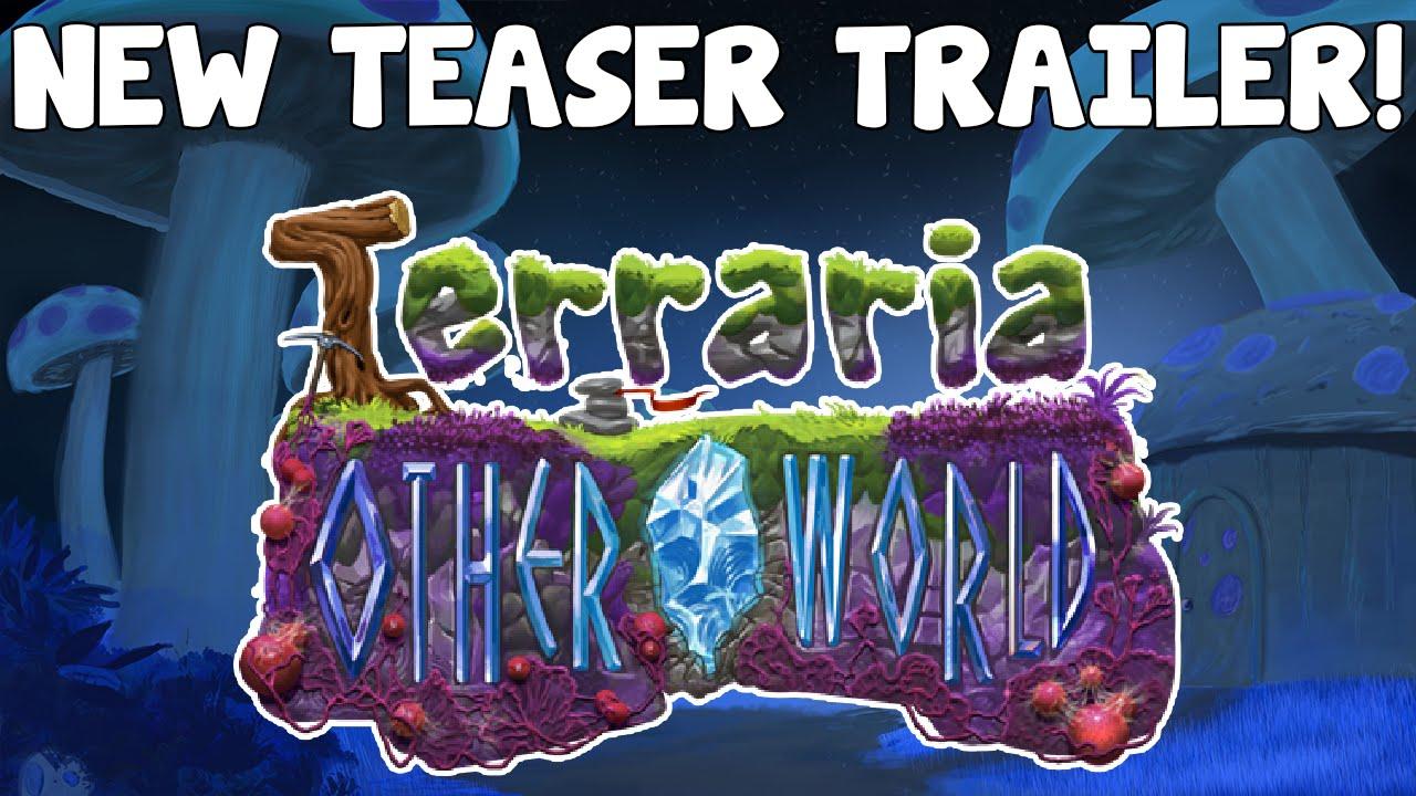 Terraria: Otherworld - NEW TEASER TRAILER! Crimson Biome & Swing Grapple!?  - GullofDoom