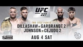 TJ Dillashaw vs Cody Garbrandt UFC 227 Live Reaction Fight companion stream!