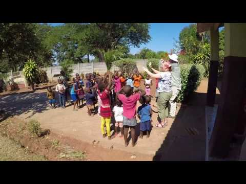 Kids sing Butterfly Boogie 2017 Africa