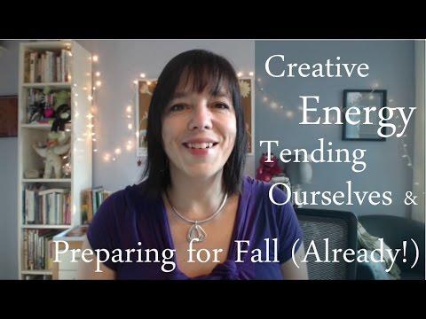 Creative Energy, Tending Ourselves & Preparing for Fall (Already?): BtS Jamie Ridler Studios