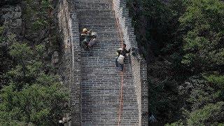 Restoring China's Great Wall brick by brick