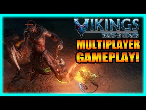 Vikings: Wolves of Midgard Coop + Keyboard and Mouse Gameplay Early Access Review Part 3