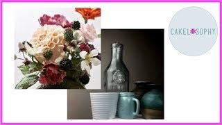 This video is about VASES for sugarflowers or flowers out of Cold P...