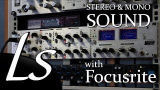 Как записать звук? Запись звука в моно и в стерео | Focusrite Platinum TwinTrak Pro