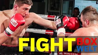 Arton Berisha vs Dino Sabanovic - 6 rounds cruiserweight - 10.02.2018 - LEO's Boxgym, München
