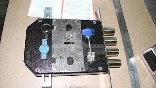Высверливание замка Эльбор «Сапфир» для бронедверей(Мы провели собственный потребительский тест замка Эльбор «Сапфир», результат которого можно найти на сайт..., 2012-08-15T16:00:54.000Z)