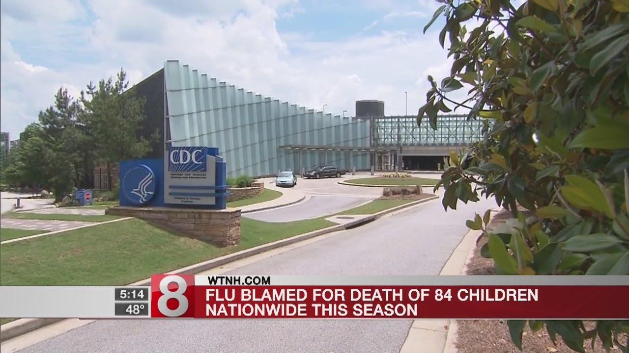Flu now blamed for 84 child deaths this season, CDC says - Dauer: 20 Sekunden