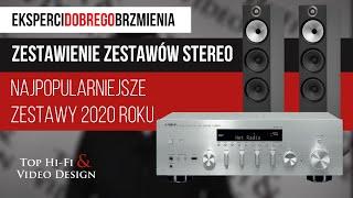 Najpopularniejsze zestawy stereo 2020 r๐ku | Zestawienie Top Hi-Fi