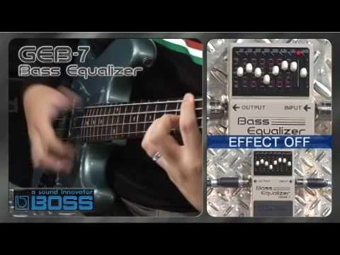 GEB-7 Bass Equalizer [BOSS Sound Check]