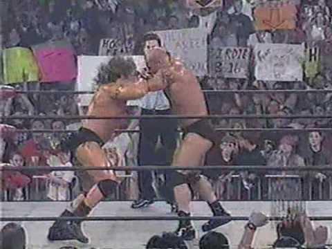 WCW Nitro: March 23rd 1998: Goldberg vs. Renegade