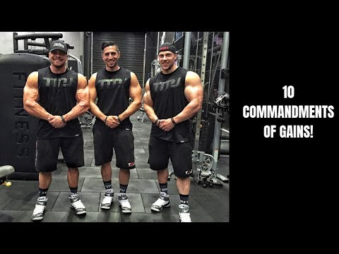10 Commandments of Gainz – The Best Muscle Mass Building Guide