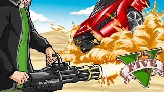 GTA V  - Explosivos VS Blindados, DAVY JONES É SEU PIOR INIMIGO