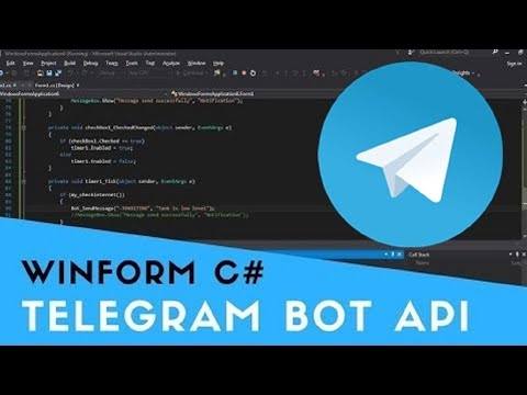 [SOURCE CODE] Telegram Bot Send Text Message To Group Part 5