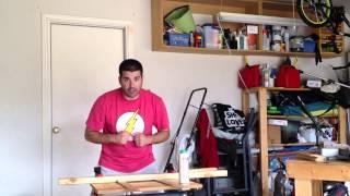 Build A Karate Belt Display