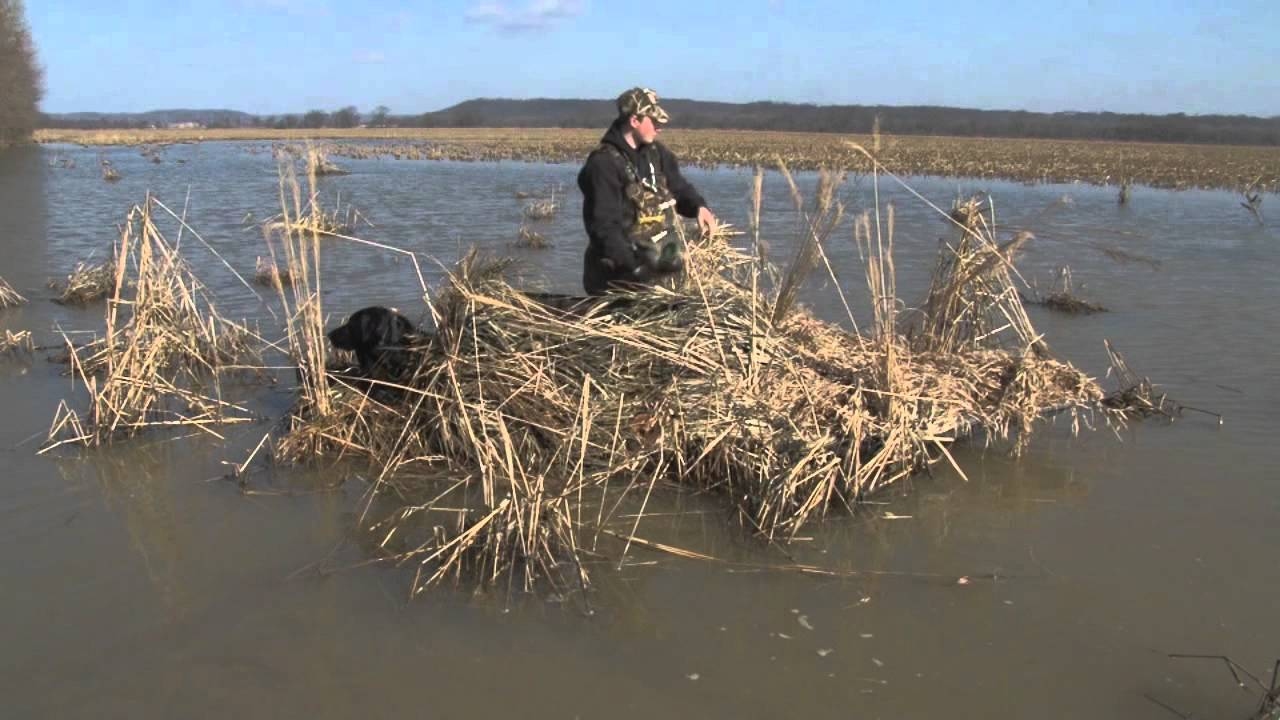Four Rivers Layout Boats Take M Blind 2 Ma Outdoors Youtube