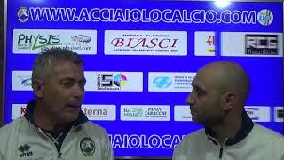 Interviste post partita Acciaiolo - La Cella