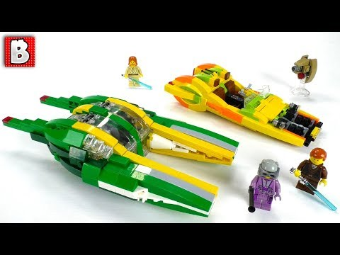 LEGO Star Wars Bounty Hunter Chase Speeders MOC Review