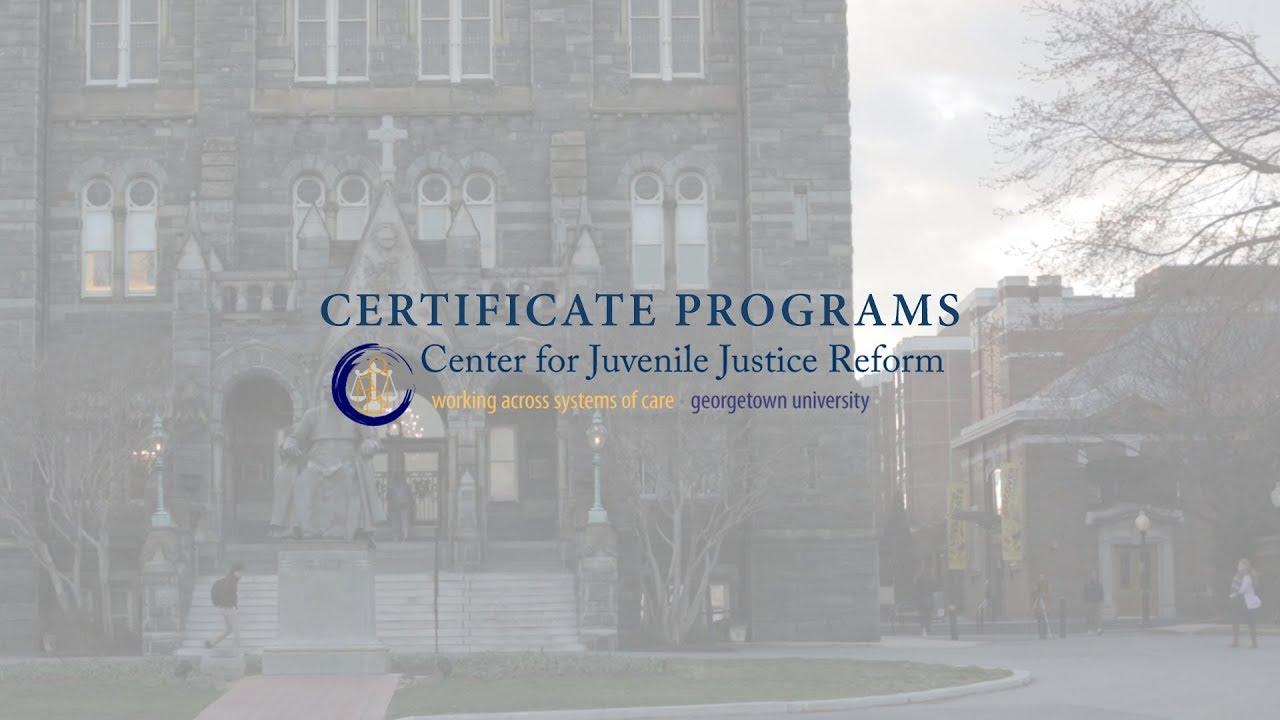 Cjjr Certificate Programs Youtube