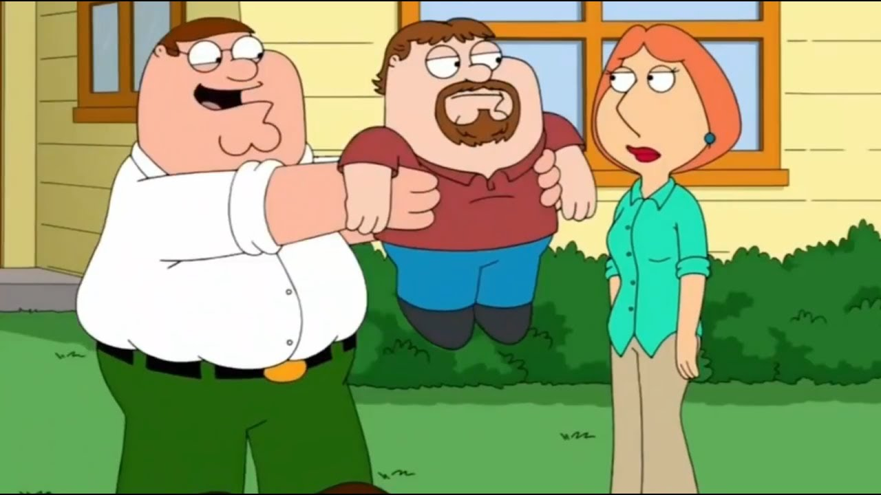 among dwarf midgets Family stewie guy