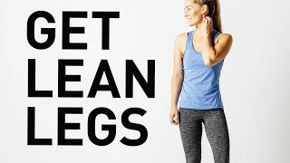 At Home Workout: Get Lean Legs in Less Than 10 Minutes!!
