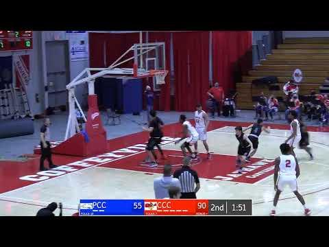 Men's Basketball CCC vs Pratt Community College