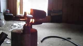 Як відремонтувати паяльну лампу ( чистка паяльної лампи)