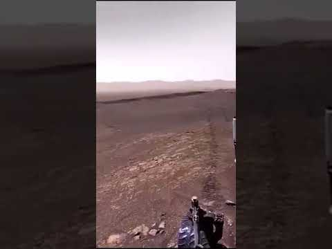 Видео с Марса со звуком 20.02.2021