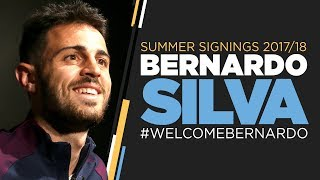 BERNARDO SILVA AGREES TO JOIN MAN CITY | FIRST INTERVIEW