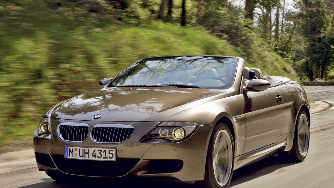2007 BMW M6 Cabrio - YouTube