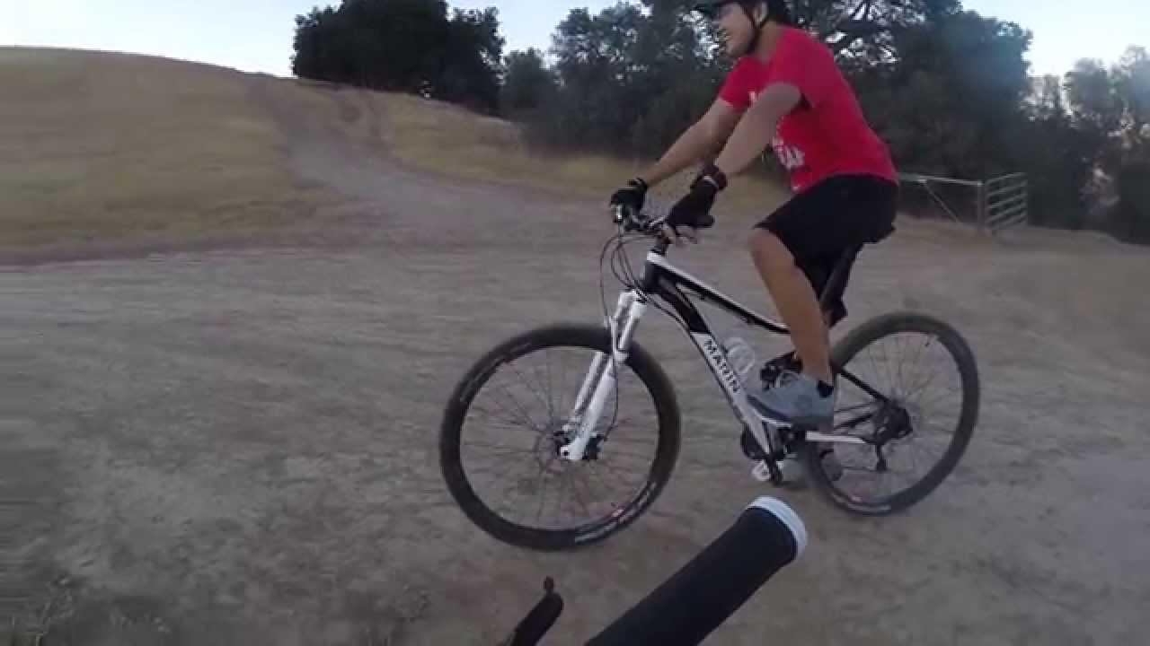 Mountain Bike Ride Oak Tree Trail Pleasanton Ridge Regional