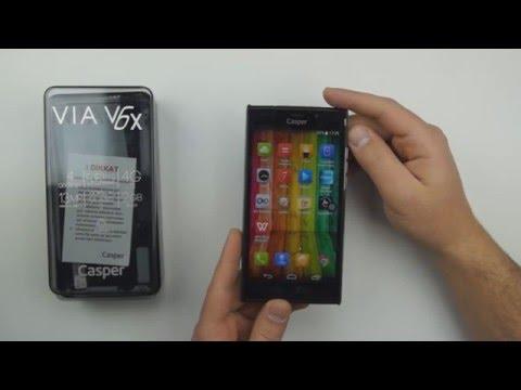 Casper VIA V6X Hard Reset Format ve Fabrikas Verilerine Sıfırlama İşlemleri