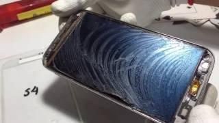 Reparación Cambio de Glass Samsung S4 I9500, técnica sencilla sin desarmar el telefono