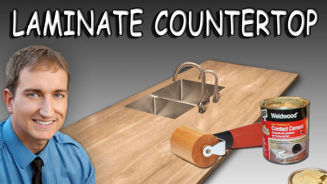 Install Sheet Laminate On A Countertop
